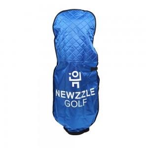 뉴즐 패딩 골프백 항공커버 블루